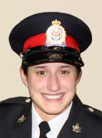portrait of Constable Jennifer Kovach