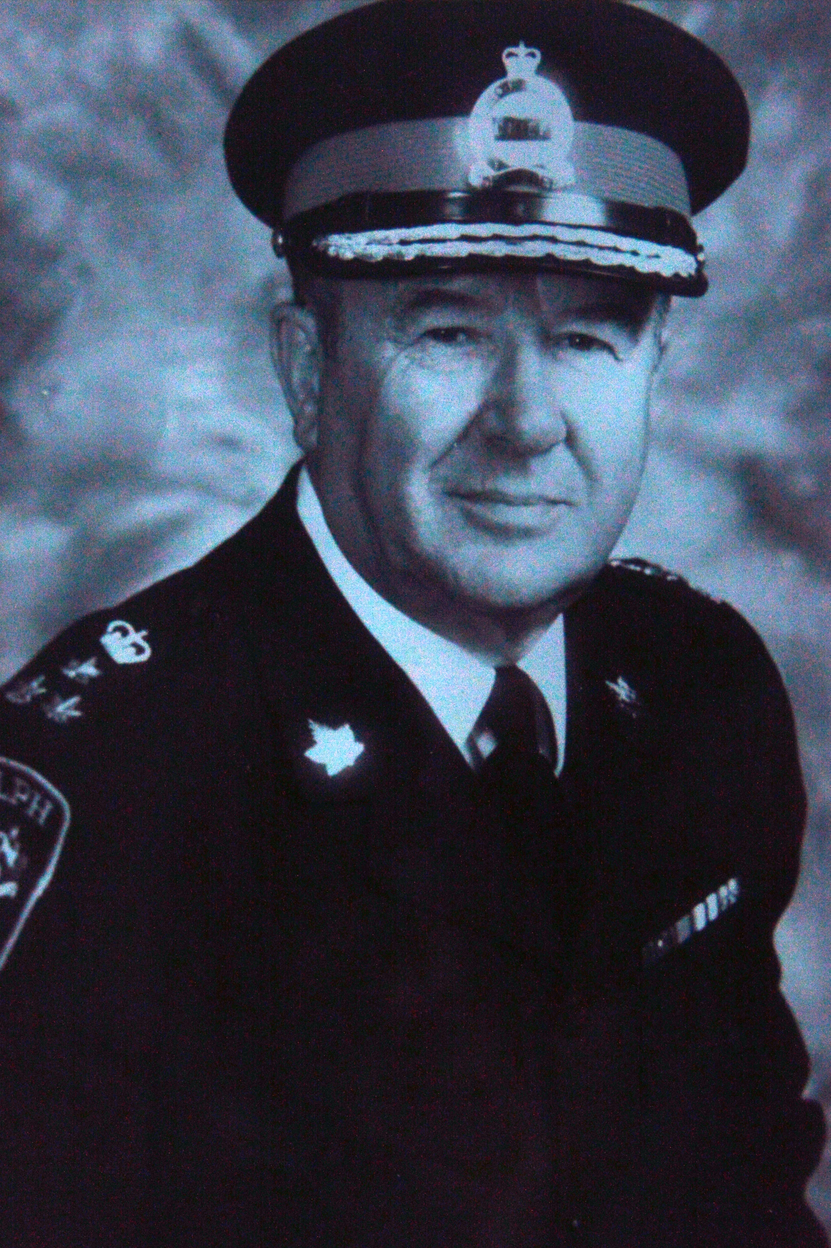 Photo of former Chief of Police Lorne Halls