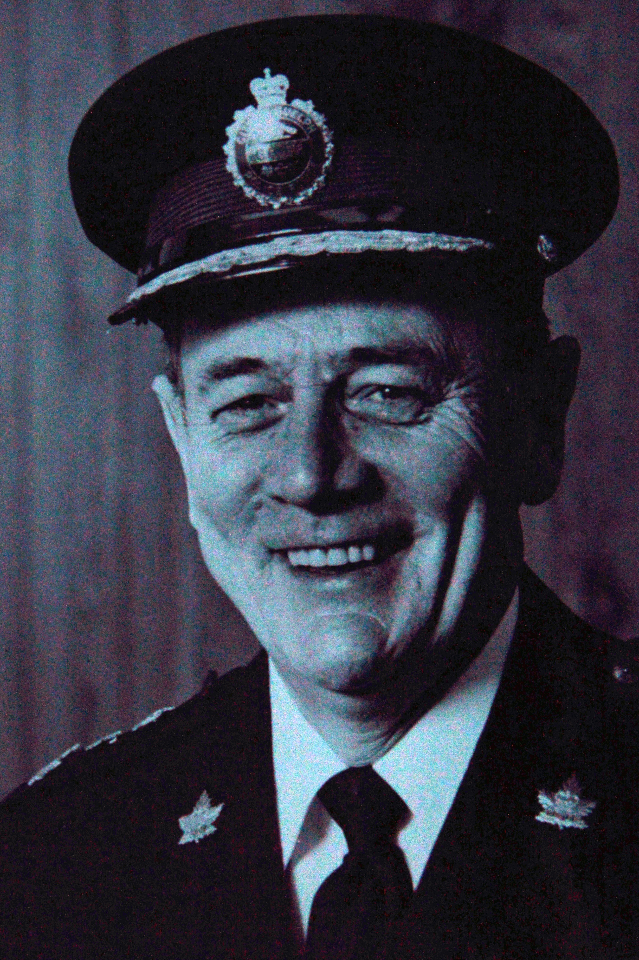 "Photo of former Chief of Police Willian ""Bill"" McCart"