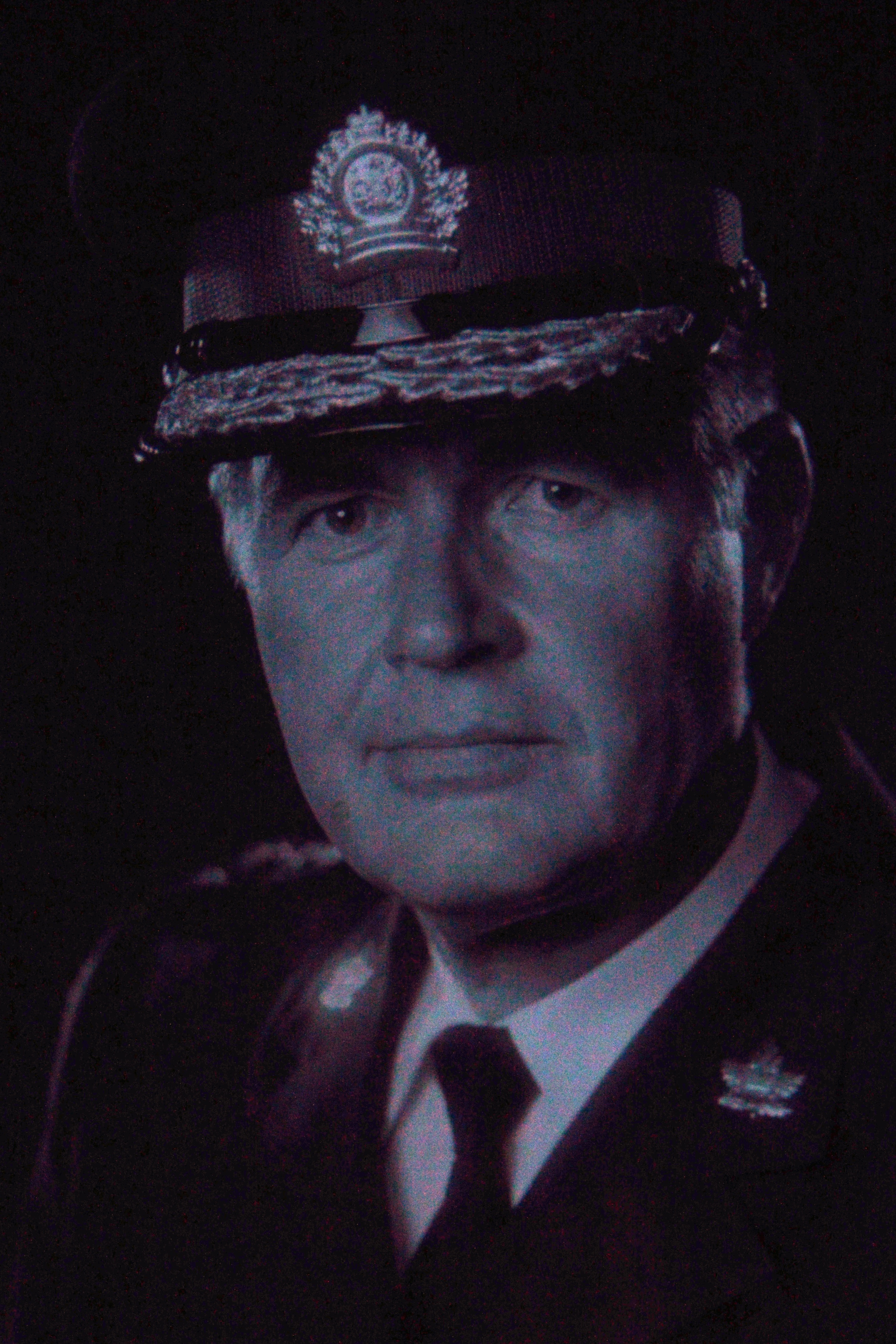 Photo of former Chief of Police Richard Stewart