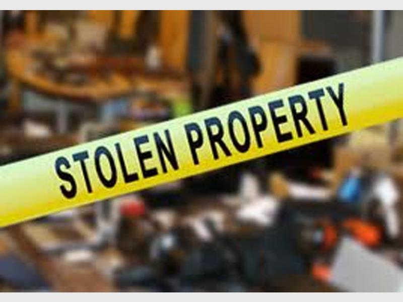 Stolen Property recovered